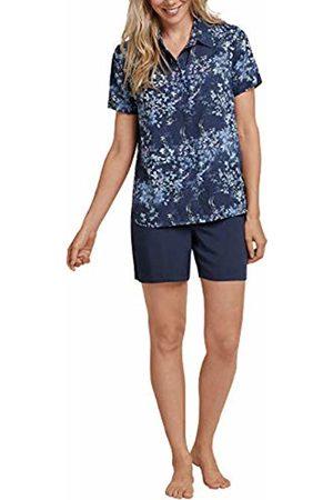 Schiesser Women's Anzug Kurz, 1/2 Arm Pyjama Set