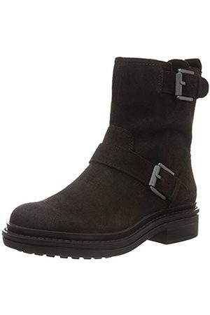 Calvin Klein Women's Flynn Oiled Suede Ankle Boots