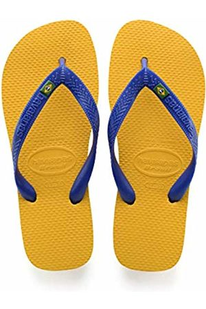Havaianas Unisex Adult's Brasil Flip Flops, (Banana )