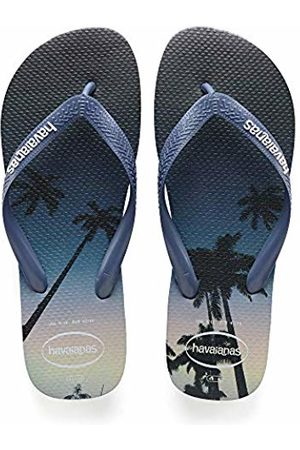 Havaianas Men's Hype Flip Flops, (Navy Star/ )
