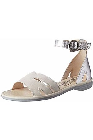 Fly London Women's CAMO005FLY Ankle Strap Sandals, Off- /Offwhite 001