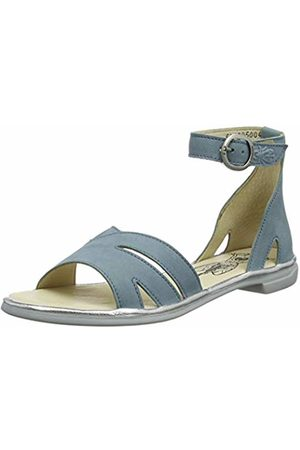 Fly London Women's CAMO005FLY Ankle Strap Sandals, Pale / 004