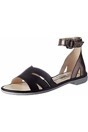 Fly London Women's CAMO005FLY Ankle Strap Sandals, Bronze/ 000