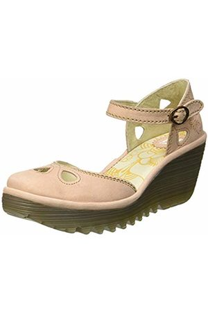 Fly London Women's YUNA Closed Toe Heels, (Nude 146)