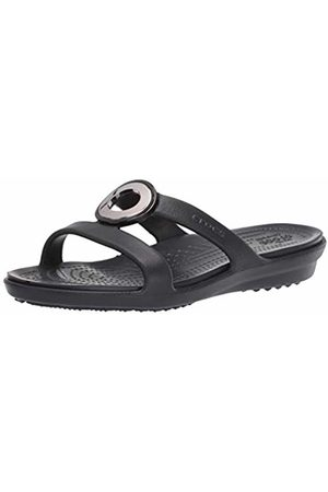 Crocs Women's Sanrah MetalBlock Sandal Women Heels Sandals