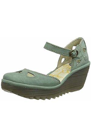 Fly London Women's YUNA Closed Toe Heels, (Jade 144)