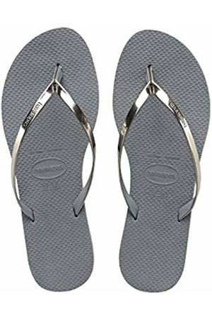 Havaianas You Metallic Women's Flip Flops, (Steel )