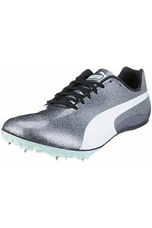 Puma Women's Evospeed Sprint 9 Wn Track & Field Shoes, (Steel Gray-Fair Aqua )