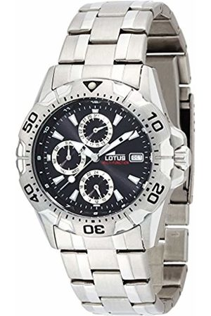 Lotus Men's Quartz Watch with Dial Analogue Display and Stainless Steel Bracelet 15301/6