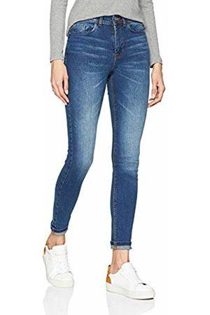 JDY Women's jona Skinny High Med Noos DNM Jeans, Medium Denim