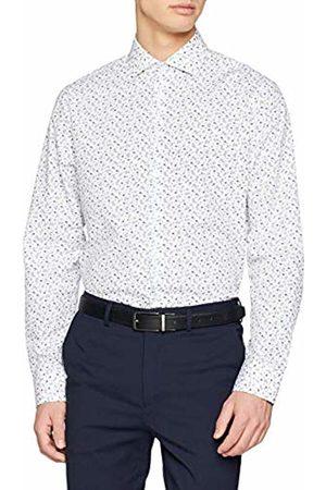 Seidensticker Men's Tailored Langarm Mit Kent Kragen Soft Blumendruck Formal Shirt