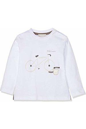 chicco Baby Boys' T-Shirt Manica Lunga Kniited Tank Top (Bianco 033) 24 (Size: 056)