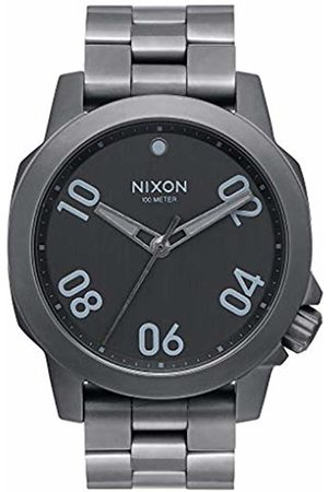 Nixon Mens Analogue Quartz Watch with Stainless Steel Strap A468-632-00