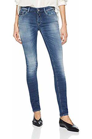 Replay Women's Luz Skinny Jeans, (Dark 7)