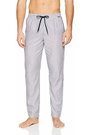 Skiny Men's Sloungewear Hose Lang Pyjama Bottoms, (Crown Stripe)