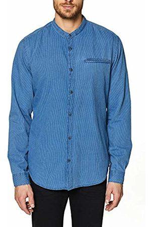 Esprit Men's 029EE2F007 Casual Shirt, ( Medium Wash 902)
