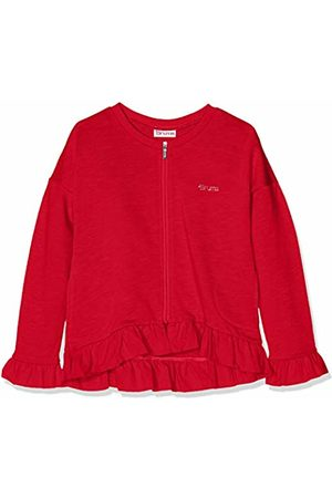 Brums Girls Hoodies & Sweatshirts - Girl's Top Felpa Fiammata Zippato Con Voulant Sports Hoodie