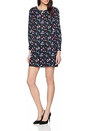 Tom Tailor Casual Women's Elegantes Kleid Mit Einem Feminen Blumendruck Dress