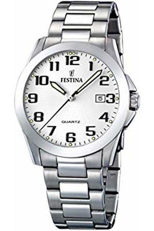 Festina Women's Quartz Watch Klassik F16376/7 with Metal Strap