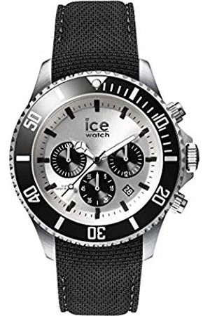 Ice-Watch Mens Chronograph Quartz Watch with Silicone Strap 016302