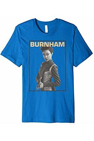 Star Trek Discovery Burnham Greyscale Pose Premium T-Shirt