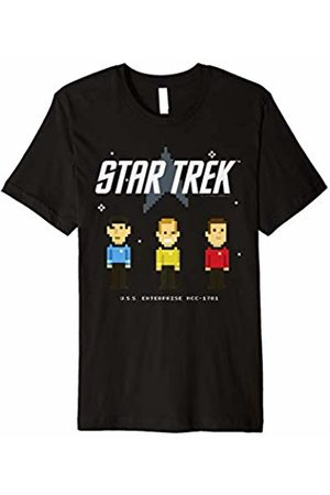 Star Trek Original Series Pixel Officers Graphic T-Shirt