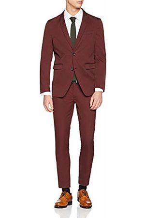 Esprit Collection Men's 118eo2m003 Suit, (Bordeaux 600)