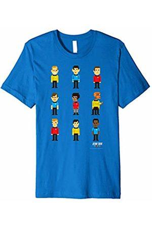 Star Trek Original Series Pixel Crew Line-Up Premium T-Shirt