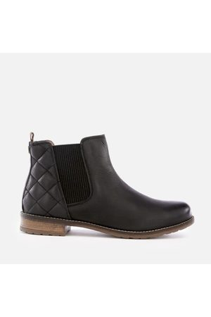Women Ankle Boots - Barbour Women's Abigail Leather Quilted Chelsea Boots