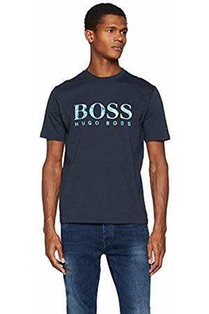 HUGO BOSS Men's Teecher 4 T-Shirt, (Dark 405)