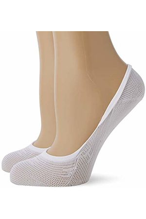 Tommy Hilfiger TH Women Burn Out Footie 2P Ankle Socks, ( 300)