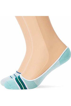 Tommy Hilfiger TH Women Serape Footie 2P Ankle Socks