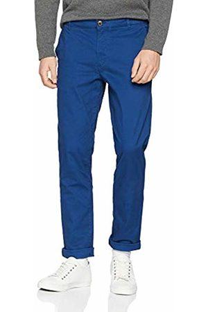 Selected Homme Men's Slhstraight-Paris Navy Pe. Pants W Noos Trouser, Peony