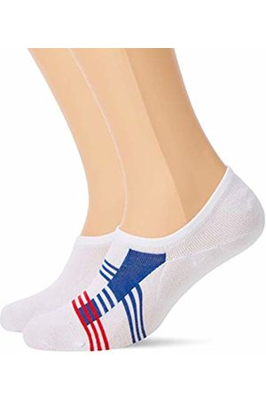 Tommy Hilfiger TH Men Stripe Footie 2P Ankle Socks, Weiß ( / / 105)