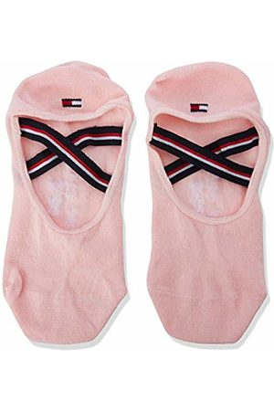 Tommy Hilfiger Th Girls Strap Footie 1p Calf Socks, ( Combo 174)