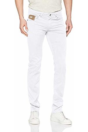 La Martina Men's Carryover 5pkt LGT Str Twill Slim Jeans, (Optic 00001)