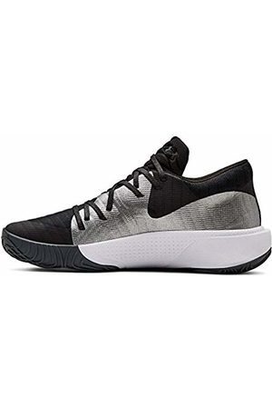 Under Armour Men's Spawn Low Basketball Shoes, Mod Gray/ 001