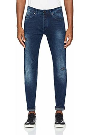 HUGO BOSS Men's Taber BC Straight Jeans, (Dark 409)