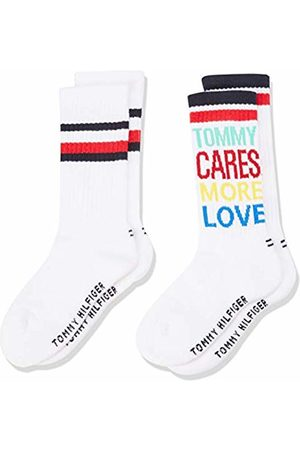 Tommy Hilfiger Girl's Th Kids Rebel Sock 2p Calf
