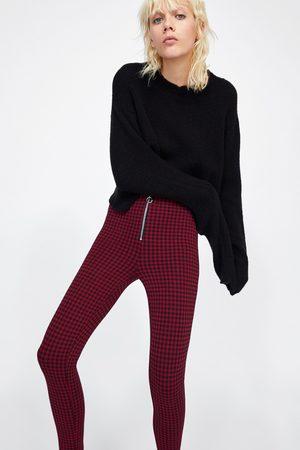 Zara zip-front women s trousers 59f4a0cd1f9
