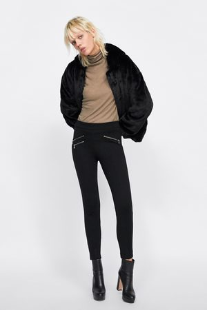 Zara ZIP LEGGINGS