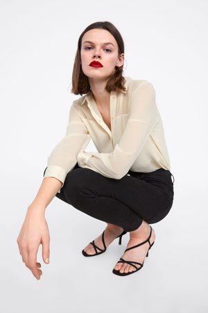Zara Shirt with satin trims