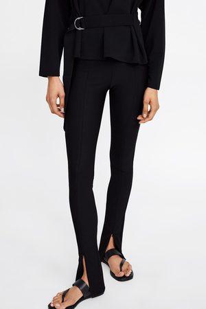 Zara Leggings with zip