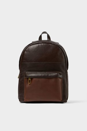 Zara Brown backpack