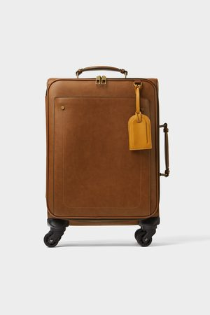 Zara Suitcase with colour detail