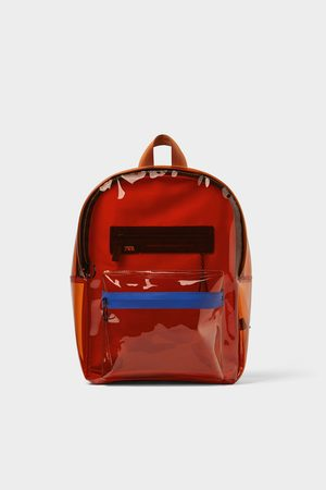 Zara Vinyl backpack
