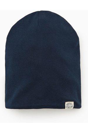 Zara Cotton hat with label