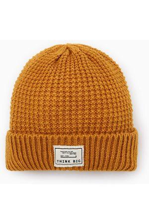 Zara 'think big' ribbed hat