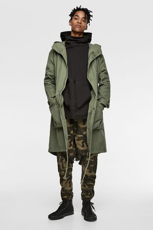Zara Parka with back print