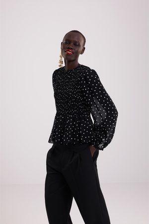 8e1ade8c3968e Buy Zara Blouses for Women Online